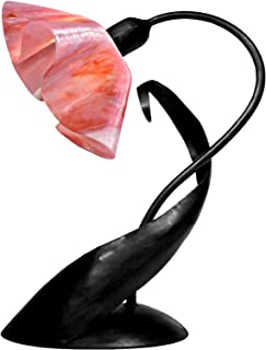 product image for Jezebel Signature TLLD-B-LP14-PEO Lily Style Black Lazy Daisy Lamp, Peony