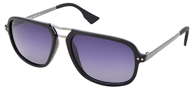 08e74f0cfee Image Unavailable. Image not available for. Colour  Fox Polarized UV  Protected Square Unisex Sunglasses ...