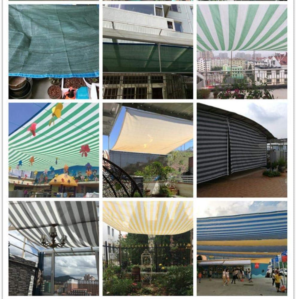 QingJu Tela De Sombra 85/% Bloqueador Solar para Patio//Plantas de jard/ín//Terraza//Coches Malla Red Respirable con Ojales Malla Sombra,Beige (2x2米)