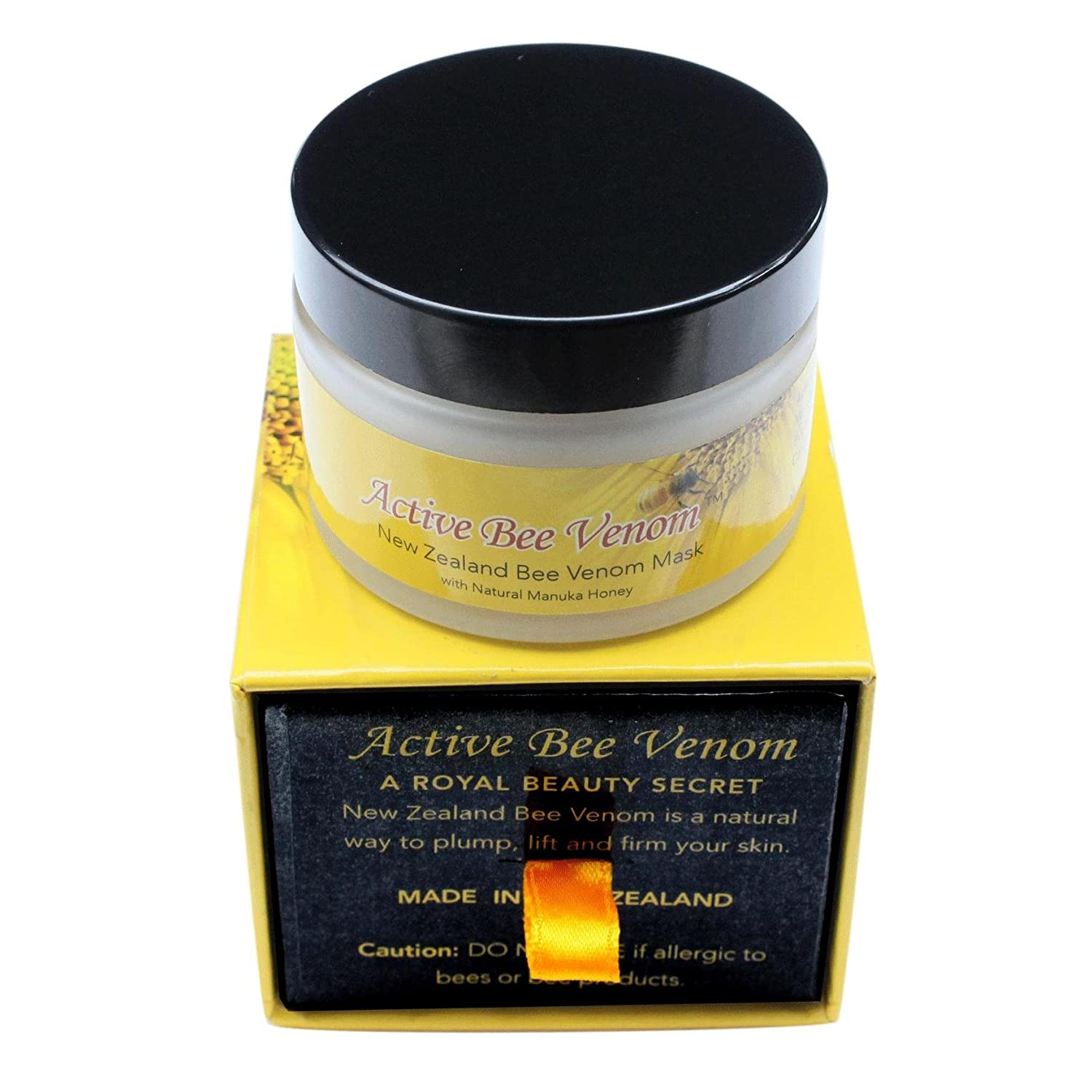 Amazon.com : Anti Aging Face Cream for Women - New Zealand Active Bee Venom 50g x 2 Jars : Beauty