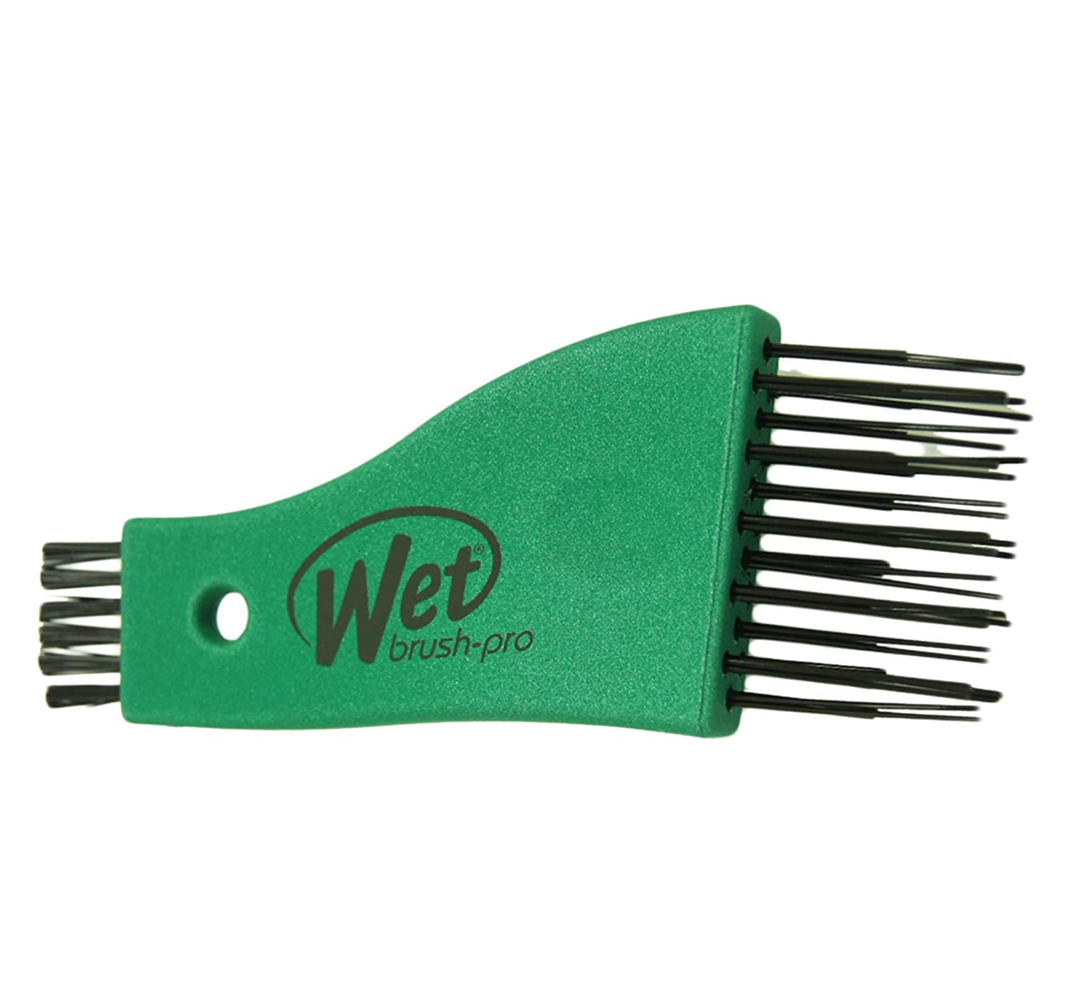 The Wet Brush 1 Count Pro Select Clean Sweep Brush Cleaner Mermaid Green