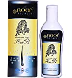 NoorSecrets Natural Herbal Hair oil - 100 ml for Hair Growth Regrowth Anti Hair Fall Dandruff Control Therapeutic Hair Oil for Falling Hair to Prevent Hair Loss for Men Women. Free from Sulphates, Parabens, Mineral Oils, Polysorbate, PG, PEG, Synthetic Fragrance