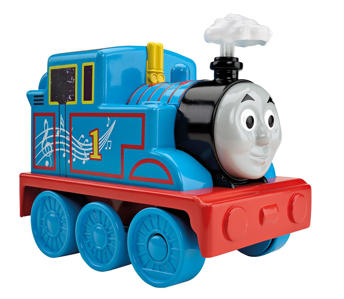Thomas and Friends Thomas viaje musical Fisher Price Mattel DRH