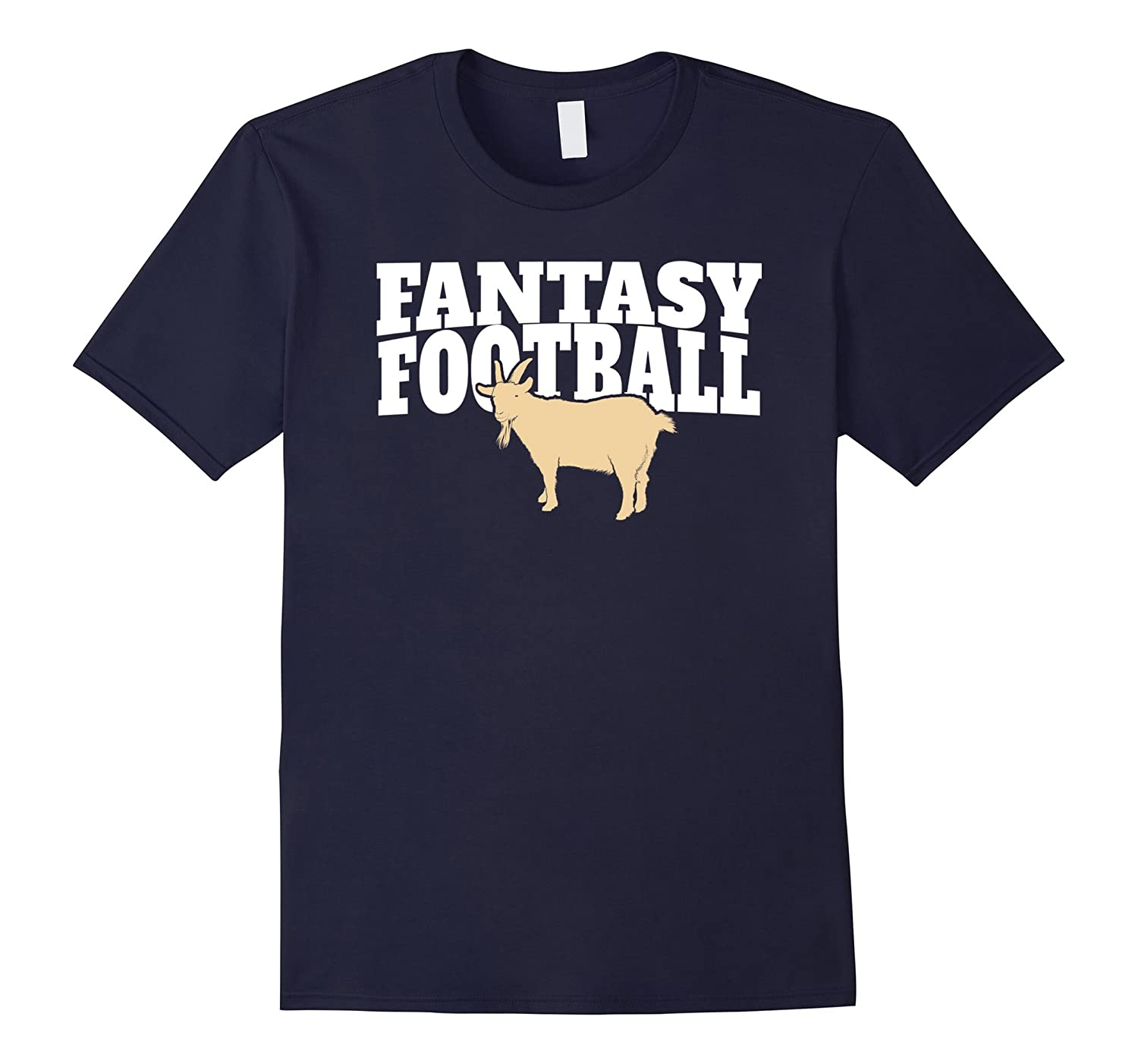 Fantasy Football Goat T-Shirt for Champions and Winners-Art