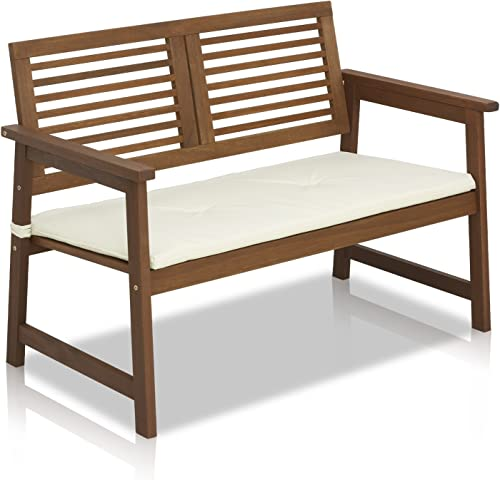Furinno FG161167 Tioman Hardwood Outdoor Bench