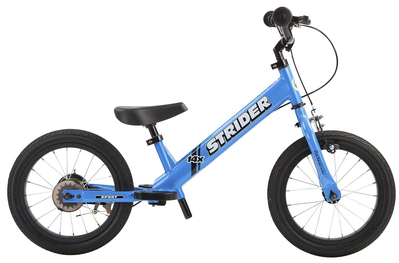 Strider 14x Sport - Bicicleta con Pedales Desmontables (Pedales no incluidos) - para niños de 3 a 7 años