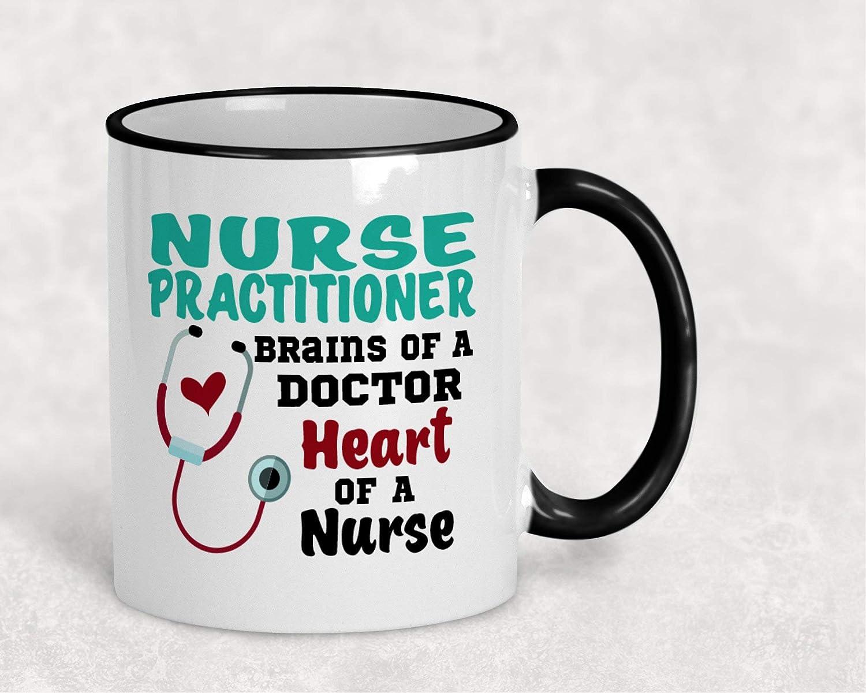 コーヒーマグ 看護師 医師の脳 授乳 卒業ギフト NPギフト ナースギフト NPマグ 学生ギフト ナースマグ カスタムマグ B07PDN6JJY