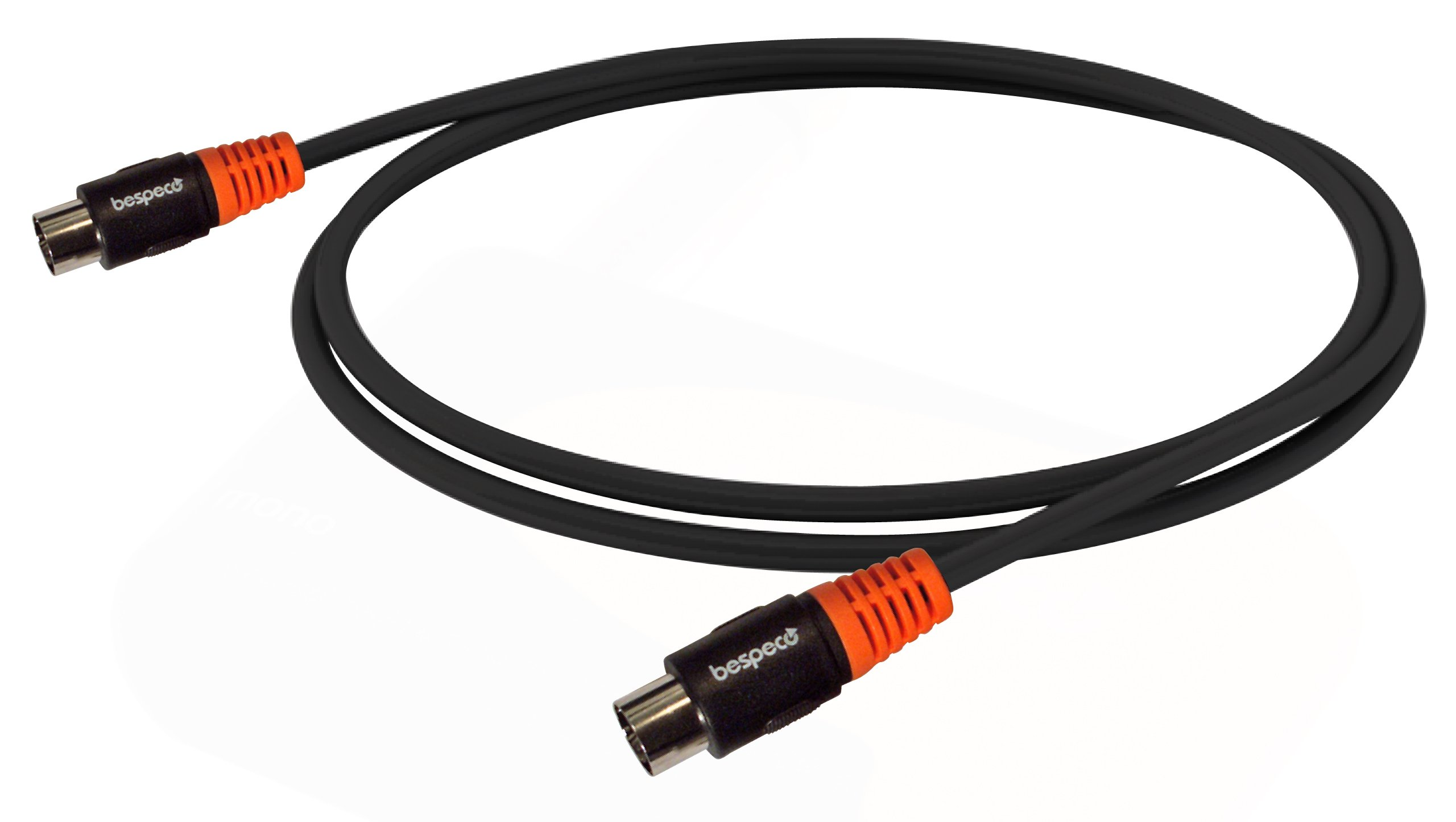 Bespeco Silos Series 9.8-Feet MIDI Cable with 5-Pole DIN Connectors