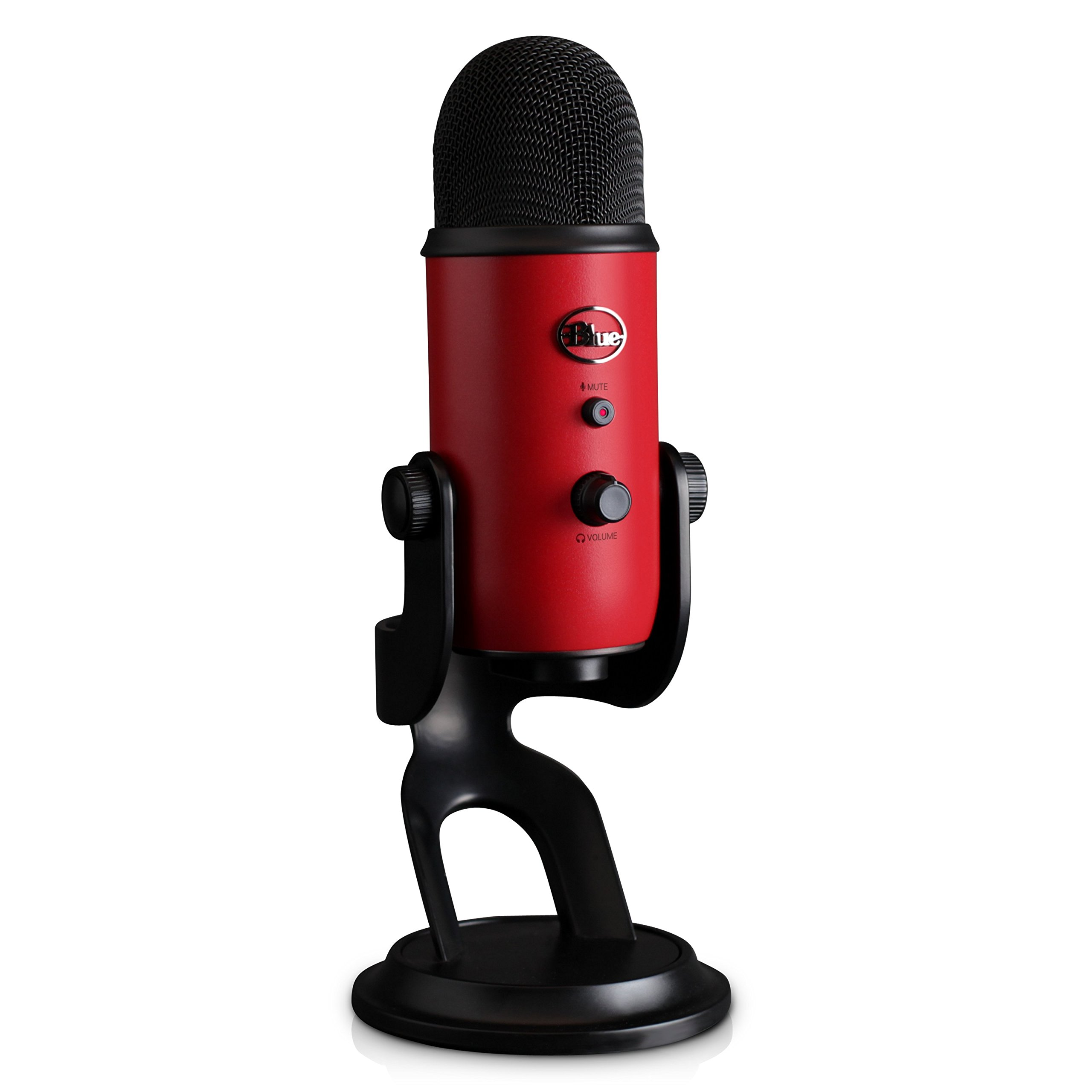 Blue Yeti USB Microphone - Satin Red by Blue (Image #4)