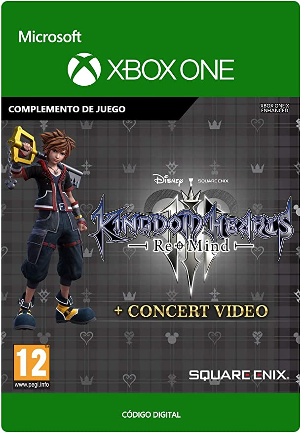 KINGDOM HEARTS III: Re Mind | Xbox One - Código de descarga ...