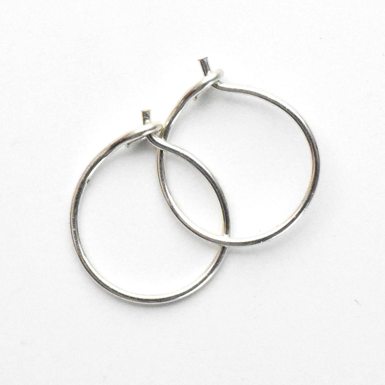 Double Layers Dangle Hoop Earrings \u2022CZ Earrings \u2022Huggie Hoop Earrings \u2022Sterling Silver Earrings \u2022Gold Hoop \u2022Zirconia Charm \u2022YC4502e