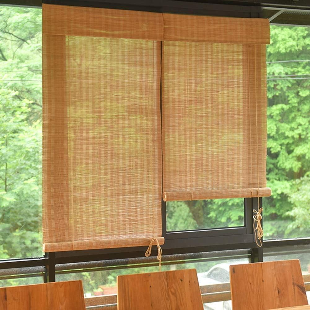 Estores Enrollables Persiana Enrollable de Bambú para Filtros de Luz de Dormitorio de Cocina, Persianas Bamboo Sun, para Pérgola de Jardín de té (Size : 110×135cm): Amazon.es: Hogar