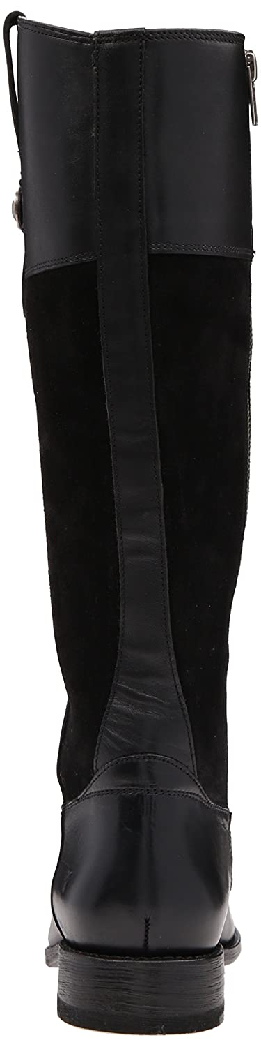 FRYE Women's Jayden Button Tall Leather and Suede Riding Boot B0192HTXTU 8.5 B(M) US|Black