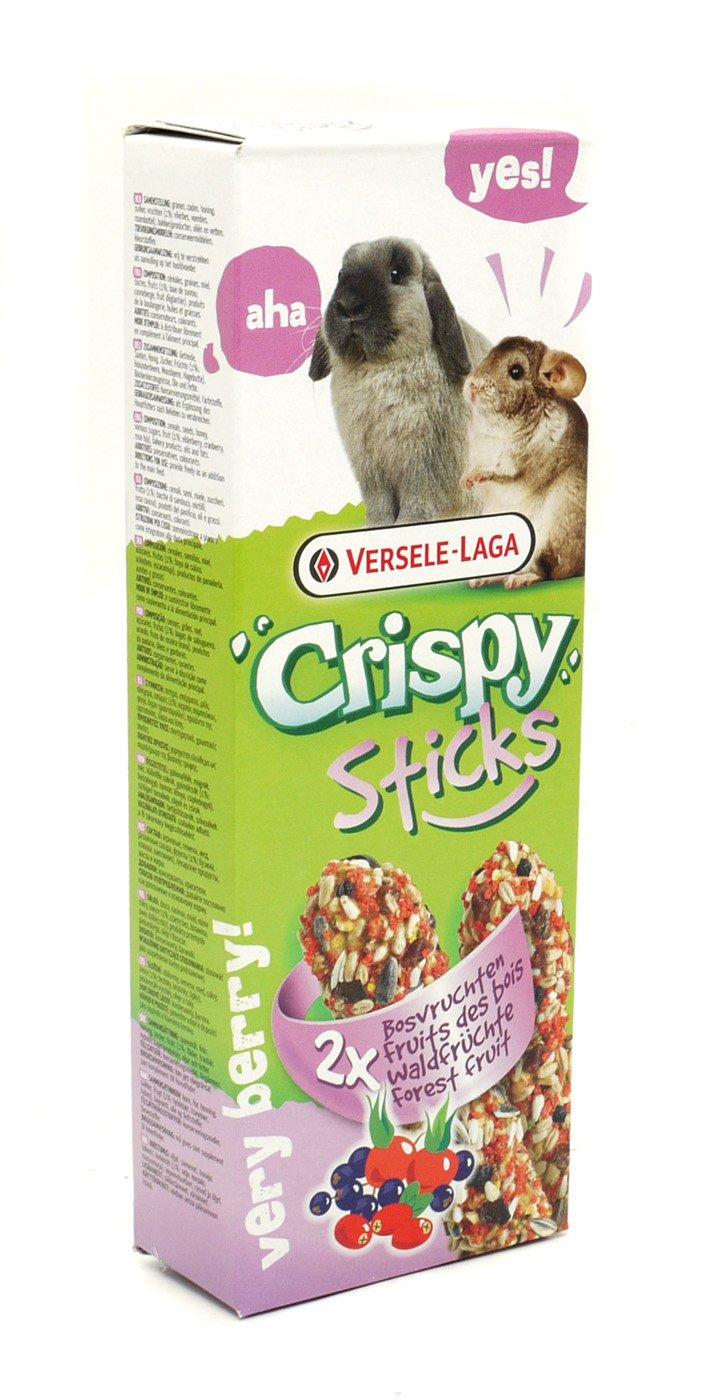 Versele Laga - Friandise Lapin / Chinchilla - Crispy Sticks - Fruits Des Bois