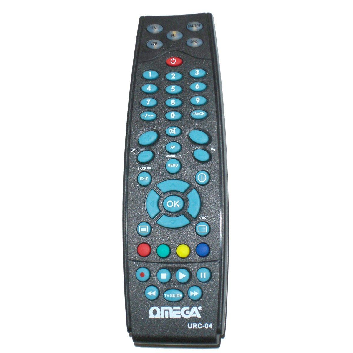 Amazon.com: Omega- 23104 Universal 4 In 1 Remote Control For Sky Tv ...