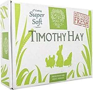 "Small Pet Select 3rd Cutting ""Super Soft"" Timothy Hay Pet Food"