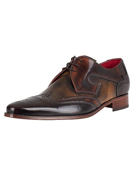 ec1b6fe9 Jeffery West Hombre Zapatos Yardbird, Marrón: Amazon.es: Ropa y accesorios