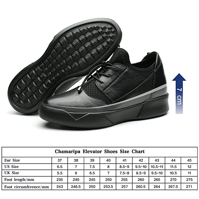 f951ea48407a CHAMARIPA Elevator Sneakers Casual Lightweight Sports Shoes With Hidden  Lifting Heel For Man -2.76 inches Taller-H71C62V012D  Amazon.co.uk  Shoes    Bags