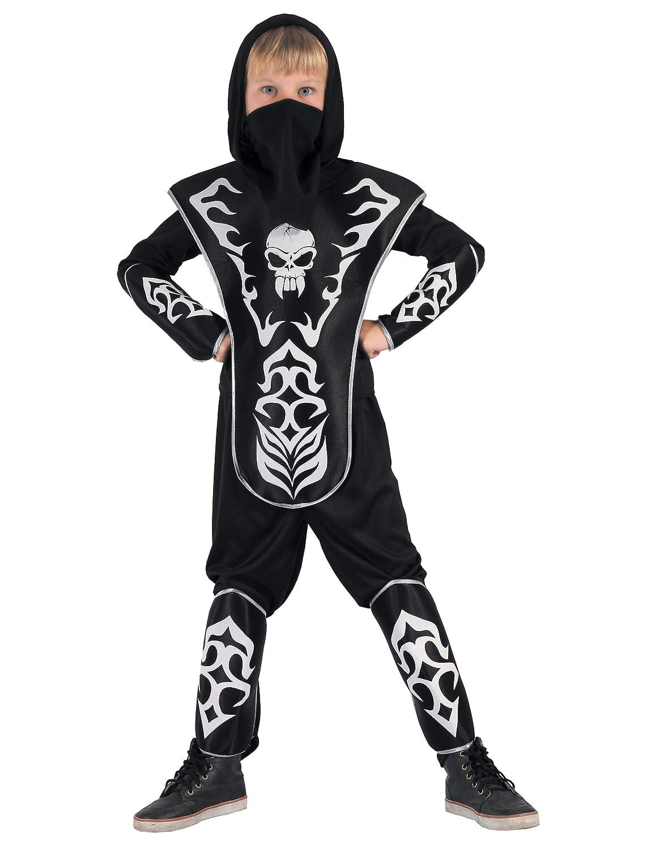 Disfraz de Ninja con Calavera Niño: Amazon.es: Juguetes y juegos