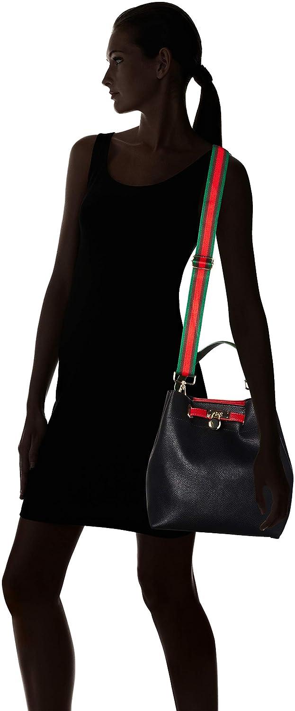 Shoppers y bolsos de hombro Mujer Black Comb 14x27x36 cm 2-2-61039-22 Marco Tozzi Negro B x H T