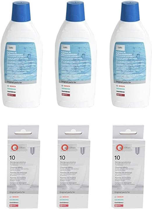 Bosch Tassimo líquido descalcificador + pastillas de calco (1,5 L + 30 tabletas): Amazon.es: Hogar