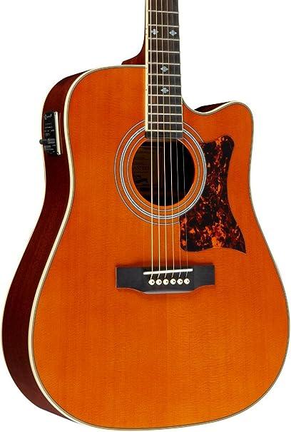 Epiphone DR-500MCE Acoustic/Electric - Guitarras electroacústicas ...