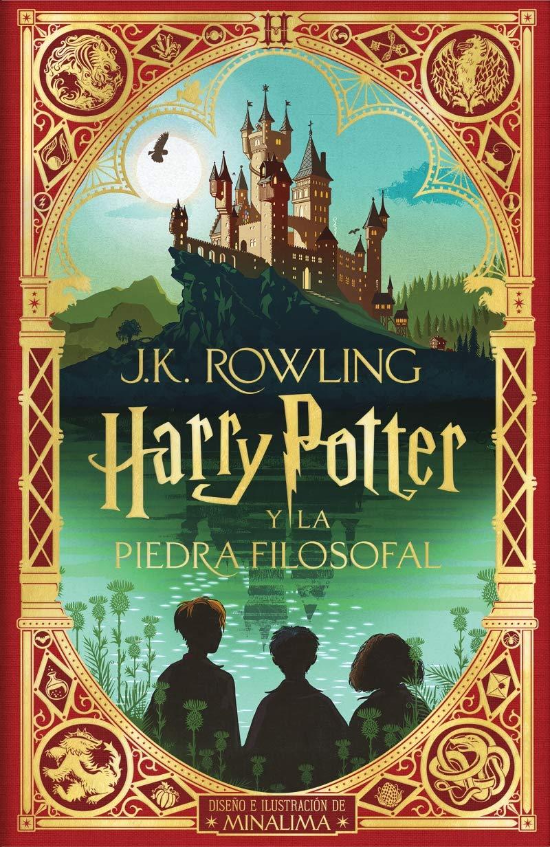 Harry Potter y la piedra filosofal Ed. Minalima Harry Potter 1: Amazon.es:  Rowling, J.K.: Libros