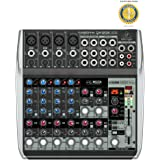 Behringer XENYX QX1202USB Premium 12-Input 2-Bus Mixer with Microfiber and Free EverythingMusic 1 Year Extended Warranty