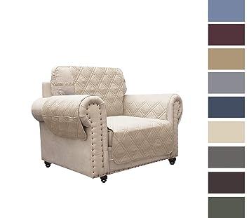 Amazon.com: Ameritex Funda de sofá con estampado de huellas ...