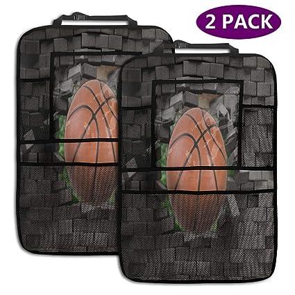 Amazon.es: Juego de baloncesto Asiento de coche Organizador ...