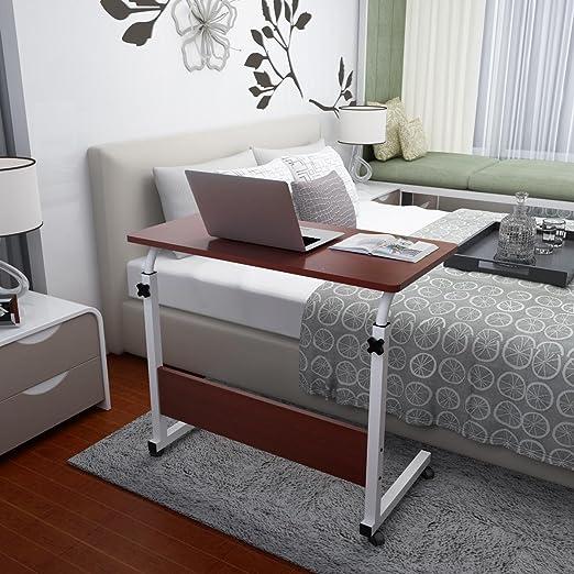 KHSKX Moda abatible portátil de Mesa, Cama extraíble elevación ...