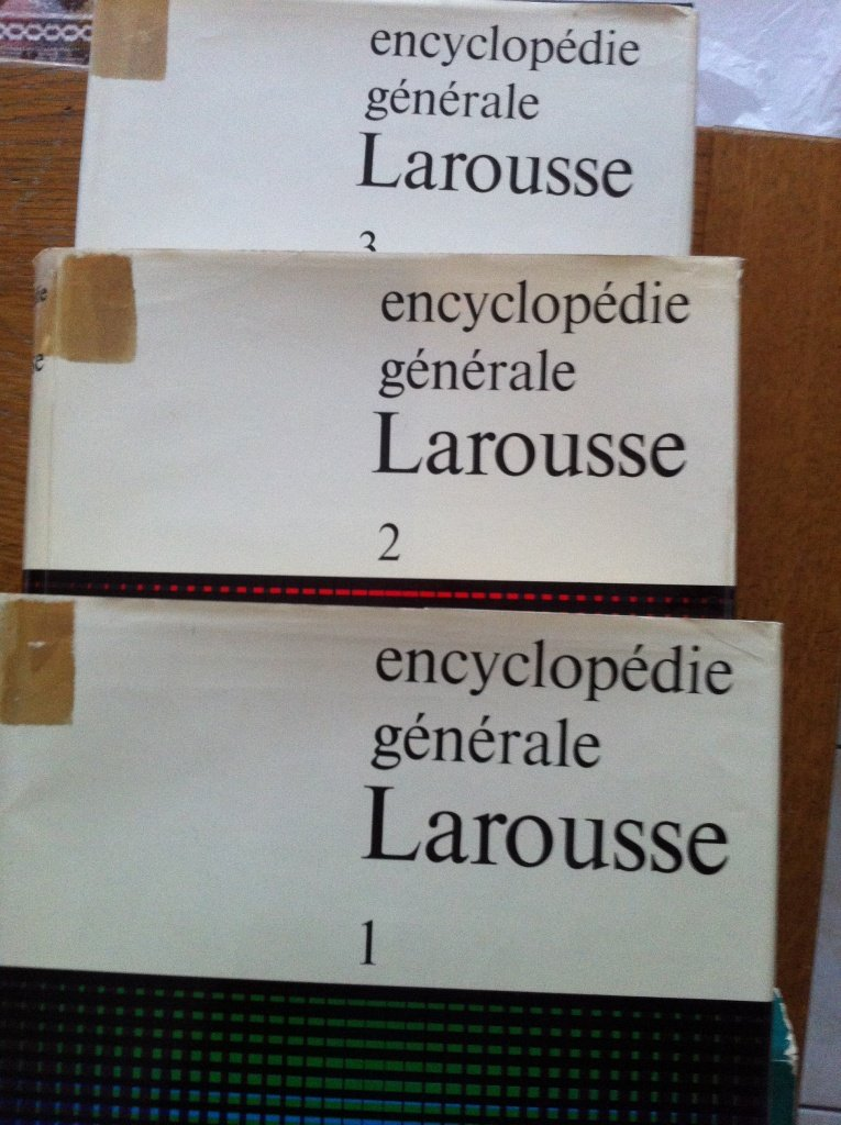 encyclopedie generale larousse