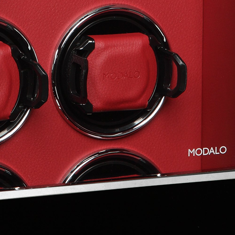 Modalo - Luxurious Watch Winder - LCD Touch Screen - Winds up to 8 Watches