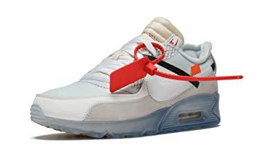 reputable site 5fe77 f005e Nike Air Max 90 x Off White - Sail White-Muslin Trainer  Amazon.co.uk  Shoes    Bags