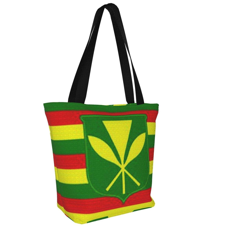Isolerad tuba musikinstrument kvinnor stor storlek kanvas axelväska hobo crossbody handväska ledig bärkasse Hawaiian Flag