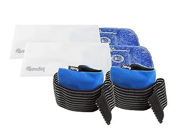 Bolsa de gel frío calor reutilizable paquete doble juego ...