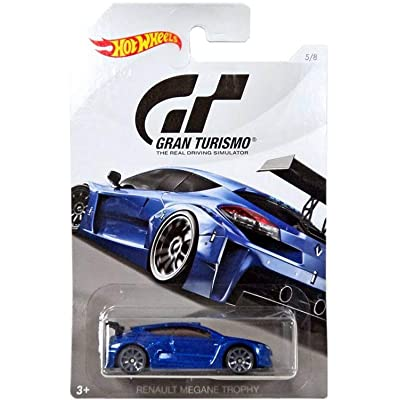 Hot Wheels RENAULT MEGANE TROPHY 2020 GRAN TURISMO Series #2 Blue RENAULT MEGANE TROPHY 1:64 Scale Collectible Die Cast Metal Toy Car Model #5/8: Toys & Games [5Bkhe0806721]
