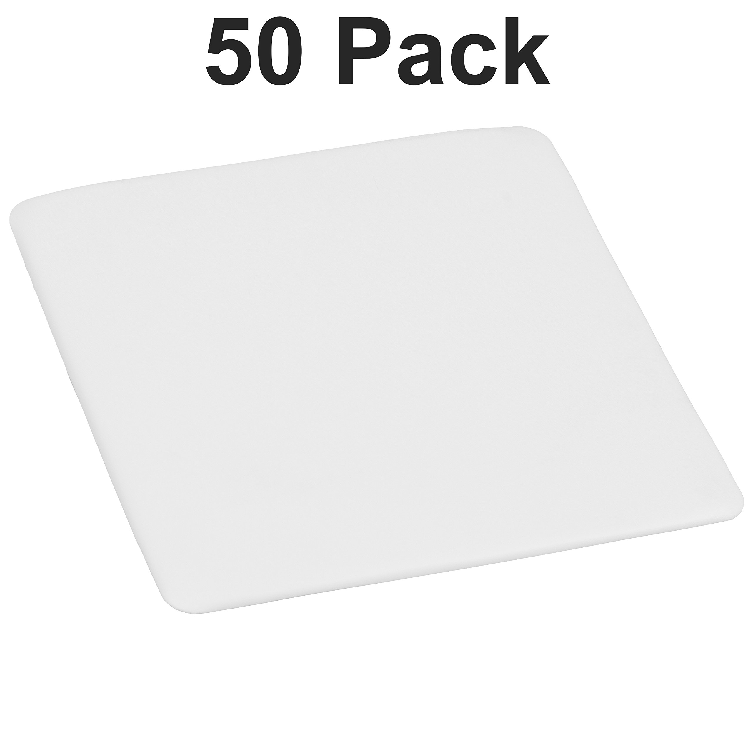 Flash Furniture 50 Pk. Replacement Seat for White Resin Folding Chair by Flash Furniture