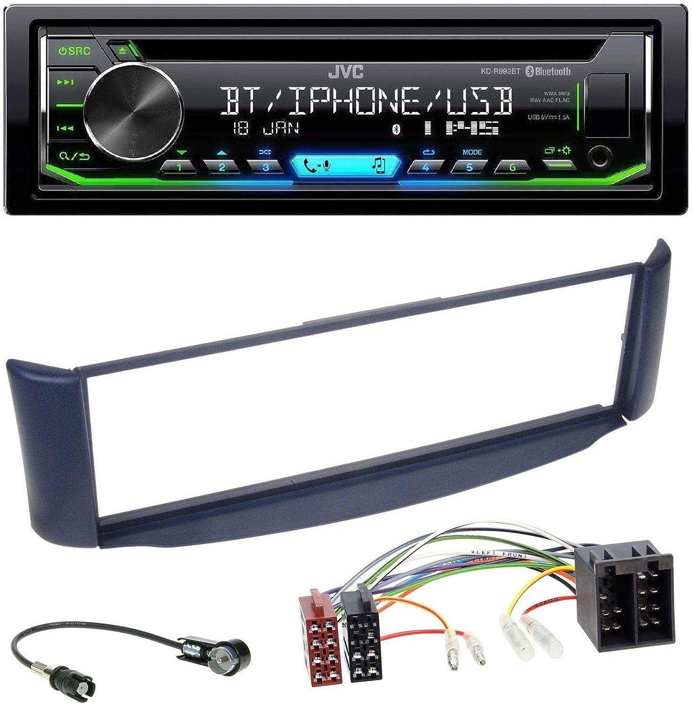 Jvc r992bt Bluetooth MP3 CD AUX USB Auto Radio para Smart Fortwo ...