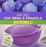Bonomelli - Infuso Uva Nera e Fragola - 24 confezioni da 10 Filtri [240 filtri]