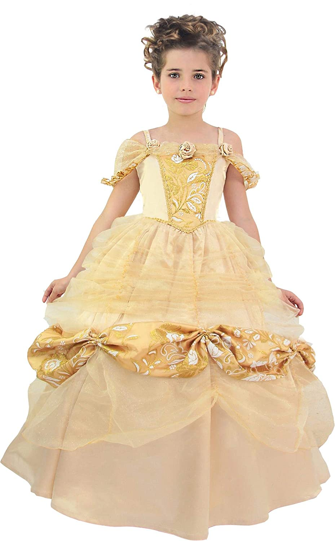 Cesar princesa Belle, niña, f794 - 003, champagne-or, 8/10 años ...