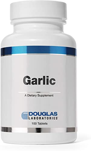 Douglas Laboratories – Garlic Odorless – Supports Cardiovascular Health and Immunity – 100 Tablets