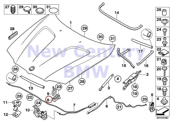 amazon genuine bmw 1 3 5 6 7 series x1 x3 z4 hood latch 2016 BMW 7 Series M Package amazon genuine bmw 1 3 5 6 7 series x1 x3 z4 hood latch protectors 2pcs 51237002012 automotive