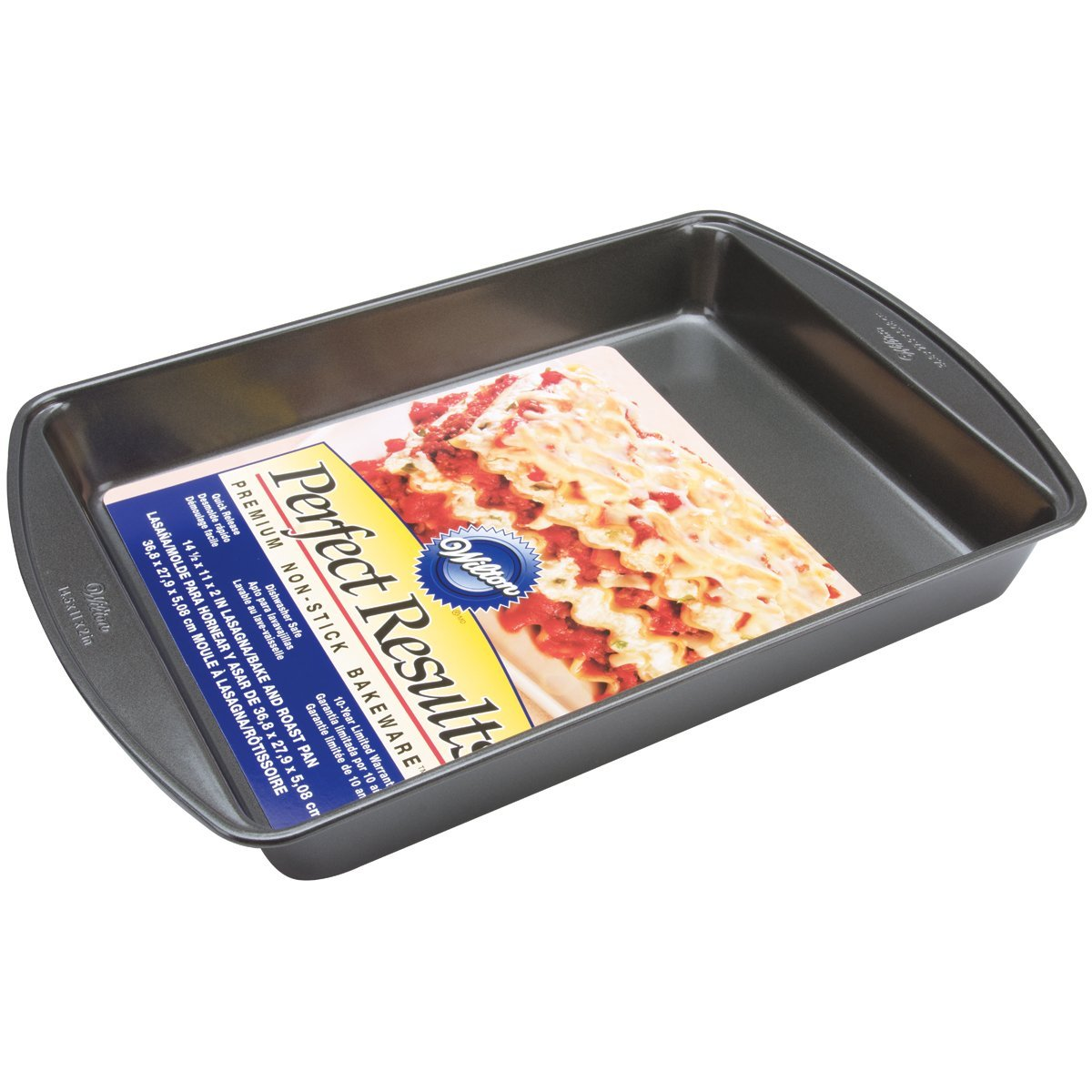 Wilton Nonstick Lasagna and Roasting Pan - 14.5-Inch by Wilton