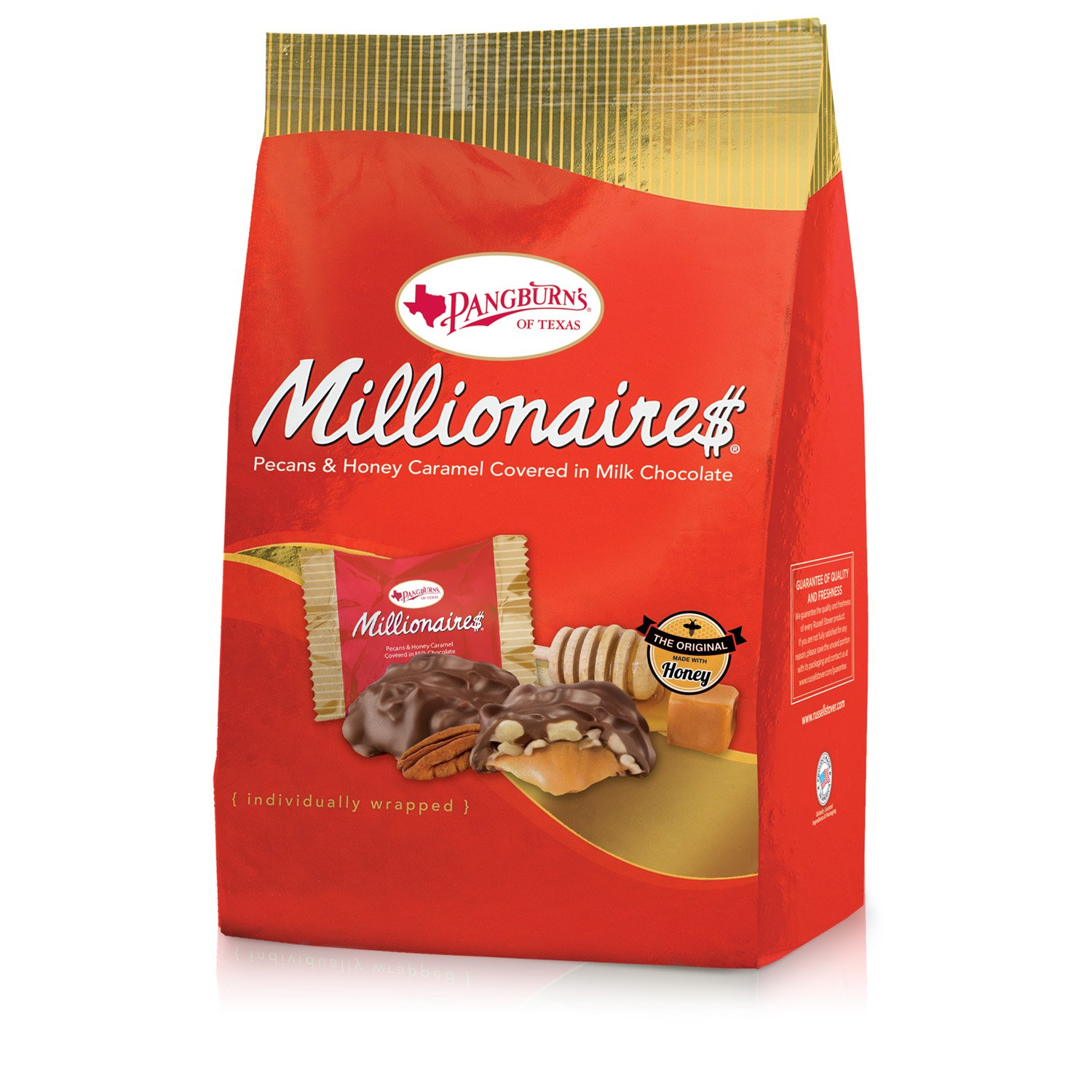 Pangburn's Millionaires, 16.75 Ounce Bag (4 Count) by Pangburn's