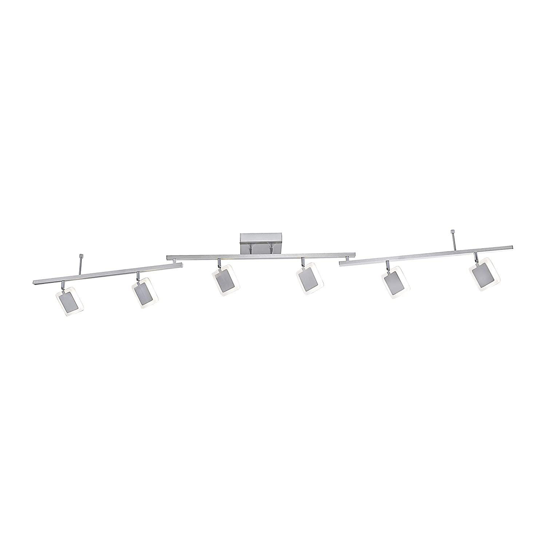 Paul Neuhaus Neuhaus Neuhaus 6377-55 Q-VIDAL LED-Deckenleuchte Strahlerleiste Smart Home für Alexa, 6-flammig d6fd74