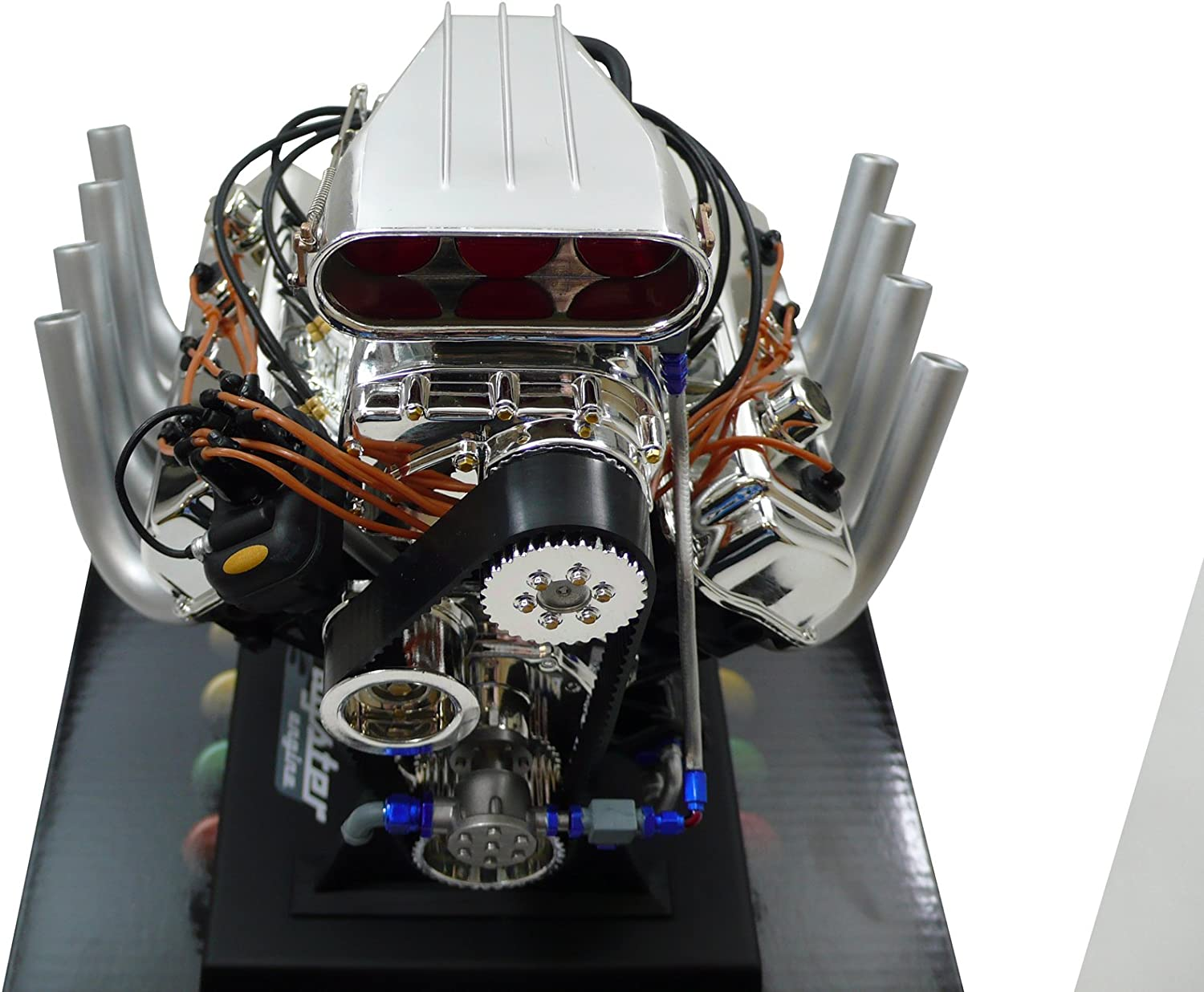 Dodge HEMI Top Fuel Dragster Model Engine -Diecast 1:6 Scale Motor Replica Scoop
