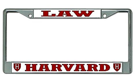 Amazon.com : HARVARD LAW Photo License Plate Frame : Everything Else