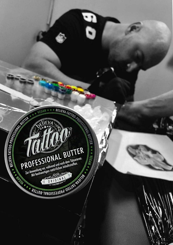 Believa Tattoo crema de mantequilla profesional - Mantequilla ...