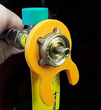 Llave de gas para calefactor de terraza, estufa de gas, estufa de gas, estufa de gas, caravanas, camping, reductor de presión, regulador de presión ...